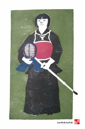少女の剣士