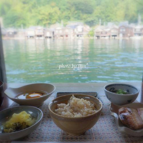 与謝荘 朝ご飯