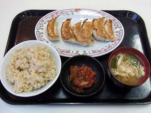 餃子+ごはんセット