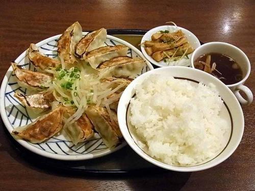 新潟豚餃子定食