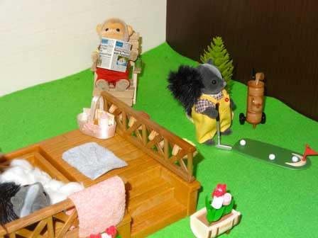 コテージ ゴルフ