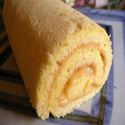 ゆずクリームロールケーキ2