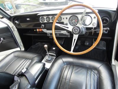 Lotus Cortina Interior 01