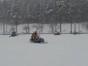 2014スノーフェスティバルin越路 スノーモービル