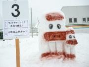 2014スノーフェスティバルin越路 雪像3
