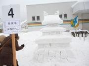 2014スノーフェスティバルin越路 雪像4