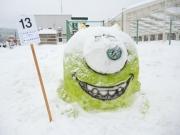 2014スノーフェスティバルin越路 雪像13