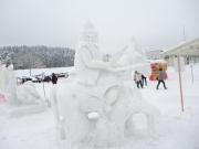2014スノーフェスティバルin越路 雪像22-2