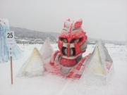 2014スノーフェスティバルin越路 雪像25-3