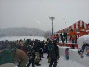 2014スノーフェスティバルin越路 もちまき