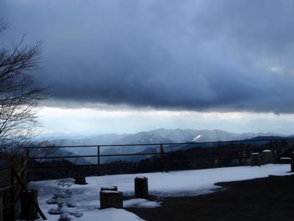 山荘展望台