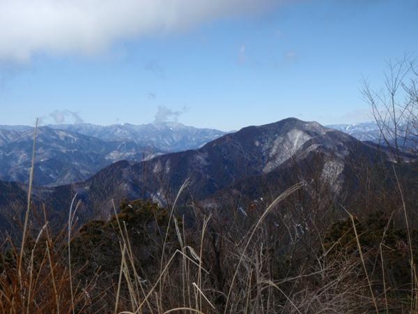 山頂から1