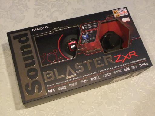 Sound Blaster ZxR 01
