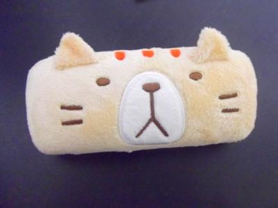 トラ猫メガネケース。
