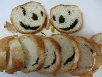 塩昆布フランスパン