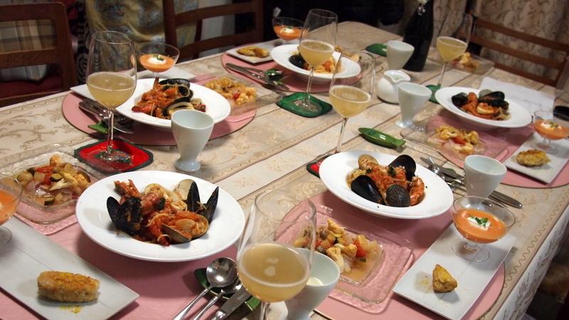 ■ イタリアン お料理教室 上野先生
