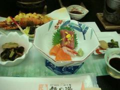 姫の湯 料理①