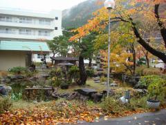姫の湯 庭
