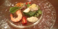 フルリール 一皿目の前菜