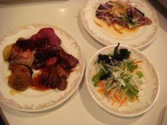 プリンスホテル 夕食①