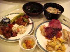 プリンスホテル 夕食②