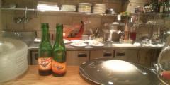 クレール キッチンとブドウジュース