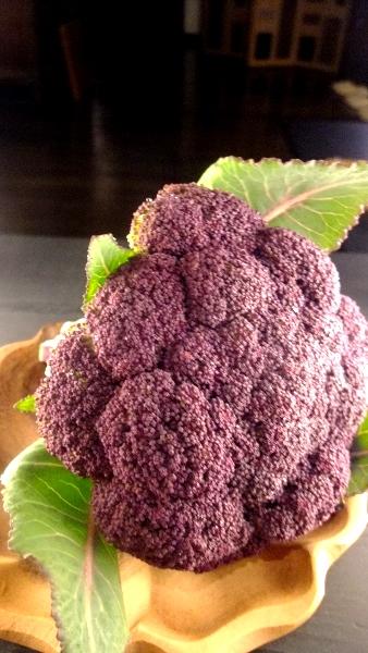 紫ブロッコリー