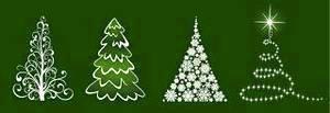 上Abstract Christmas Tree