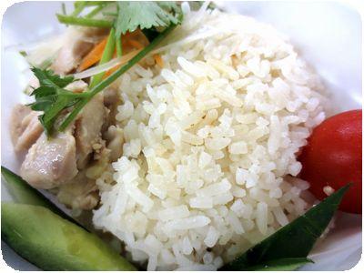 シンガポールチキンライス ホワイト<br />(蒸し鶏)