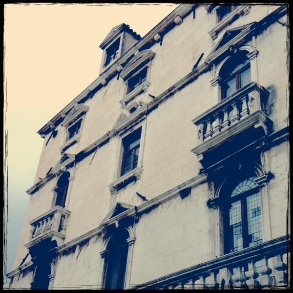 スプリットの建物