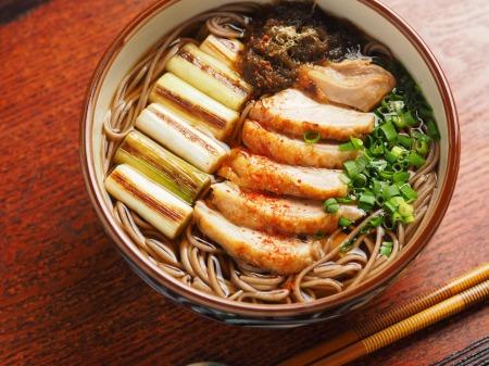 鶏南蛮蕎麦 、 鶏もも肉で簡単につくる