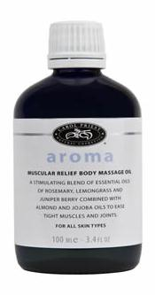 muscular massage oil