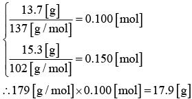 【2014年度大学入試センター試験】化学Ⅰ第4問