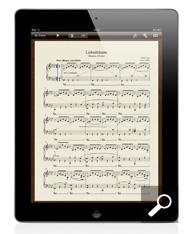 タブレットで楽譜表示