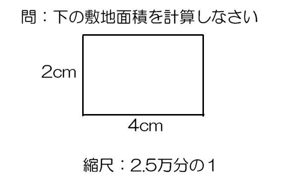 Geographico! 試験に出る地形図③ 面積の計算
