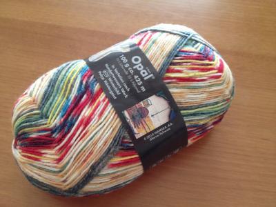 Opal 靴下用毛糸 Hundertwasser 2104