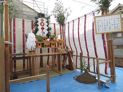 花田ⅢD-H-260211地鎮祭画像 005
