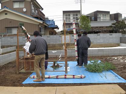 花田ⅢD-H-260211地鎮祭画像 011