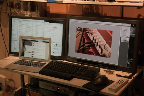 デスク パソコン デスプレイアーム 201206