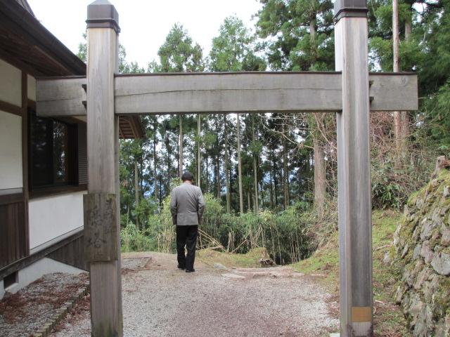 吉野水分神社~義経の隠れ塔(義経の隠れ塔)2