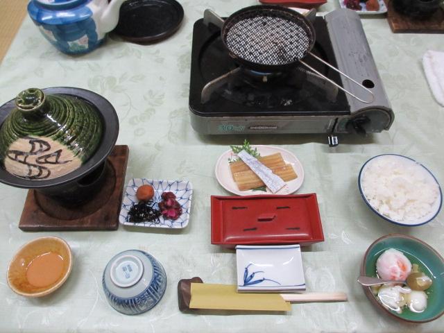 温泉民宿こぶち 朝食