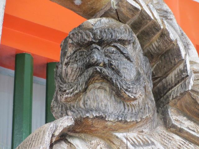 熊野速玉大社 武蔵坊弁慶の像2