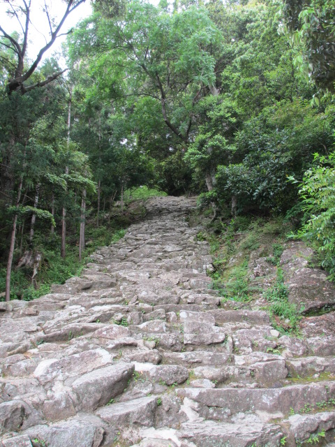 神倉神社 石段2