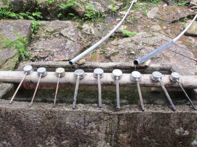 神倉神社 手水鉢