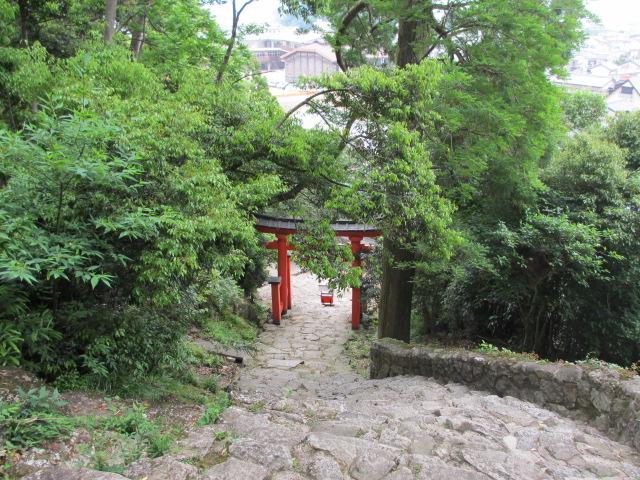 神倉神社 石段13