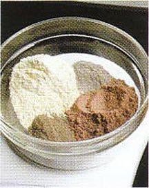小麦粉カラー