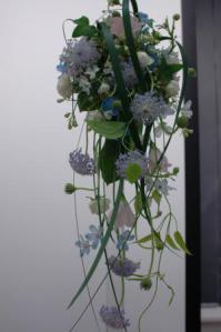 新・流れるような花嫁の花束