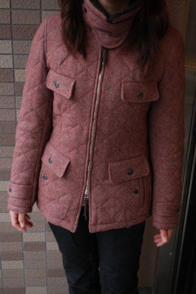 MFB-1762 ツイードキルティングジャケット