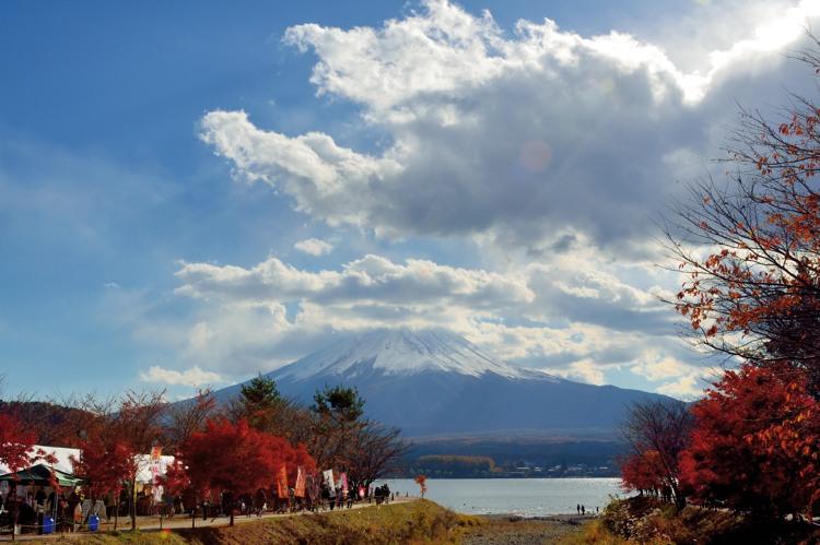 河口湖富士山1