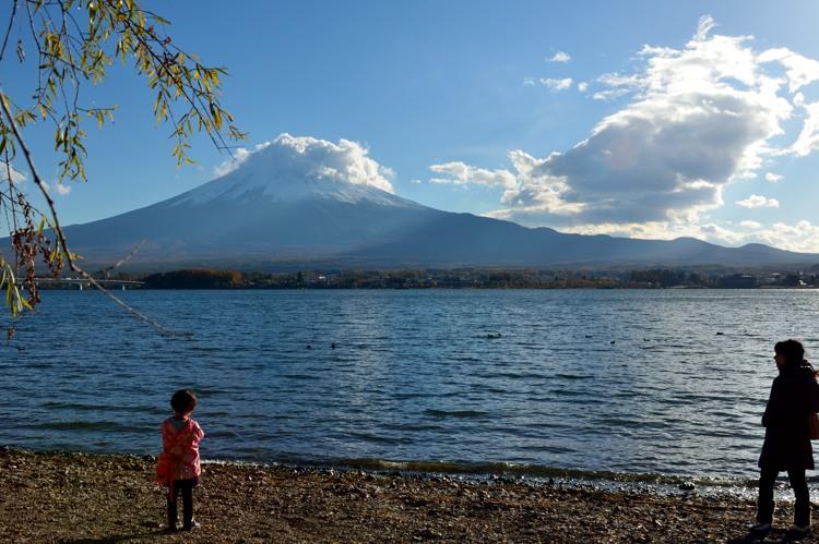 河口湖富士山4